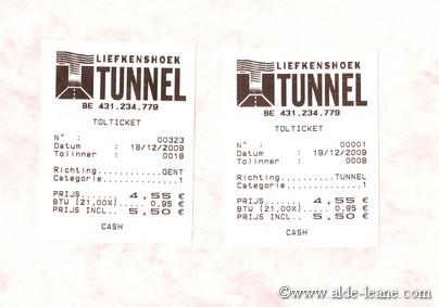 Liefkestunnel kaartjeklein